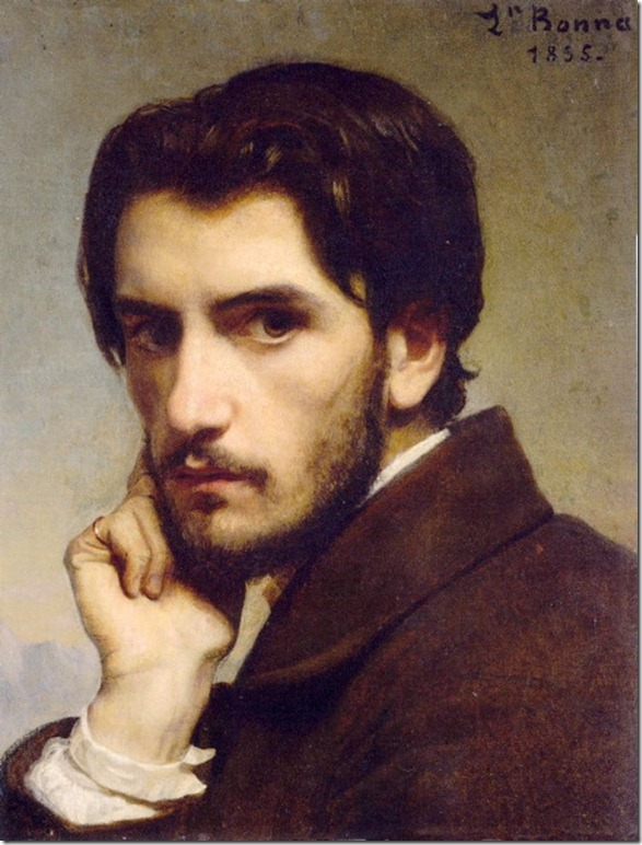 Leon Bonnat_self portrait