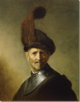Rembrandt's Old Man in Military Costume